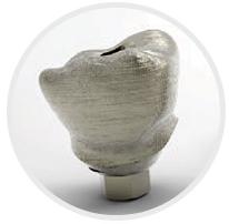 Łącznik implantologiczny CoCr