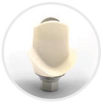 Łączniki implantologiczne hybrydowe